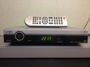 Внешний вид ТВ-тюнера Kaon k-e2220co